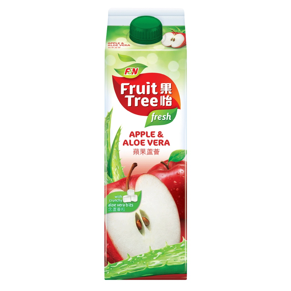 Fruit Tree Apple & Vera Juice Drink 1L