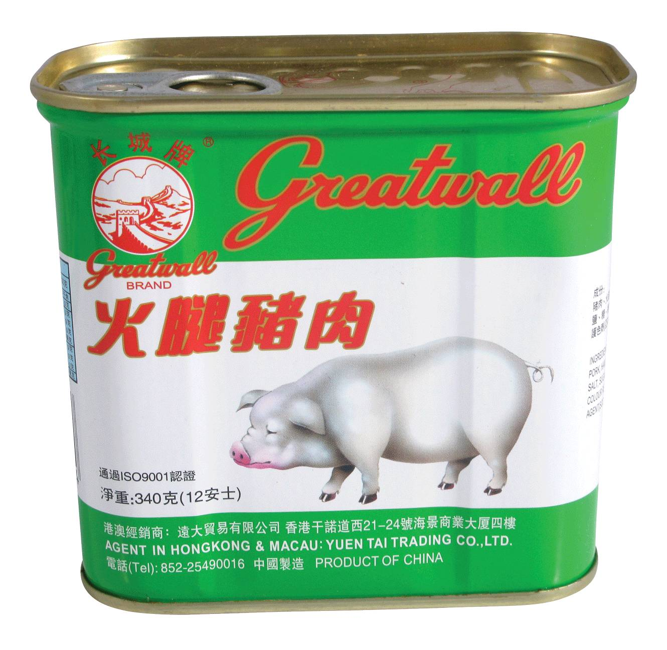 GREAT WALL CHOPPED PORK & HAM 340G