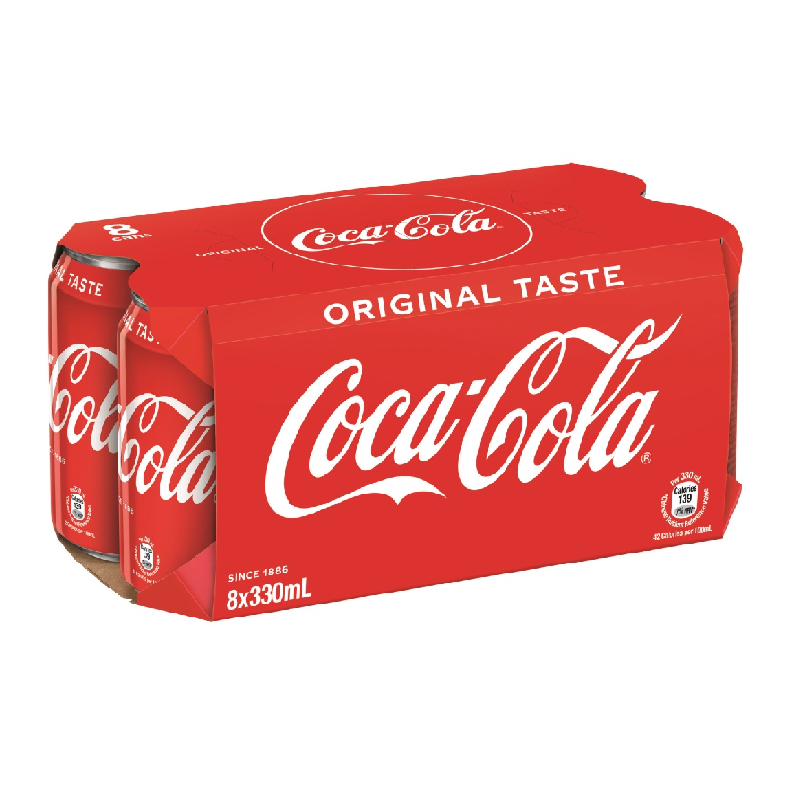 Coca Cola 330ml x 8Cans