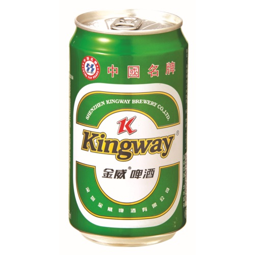 KINGWAY BEER GREEN CAN 330ML