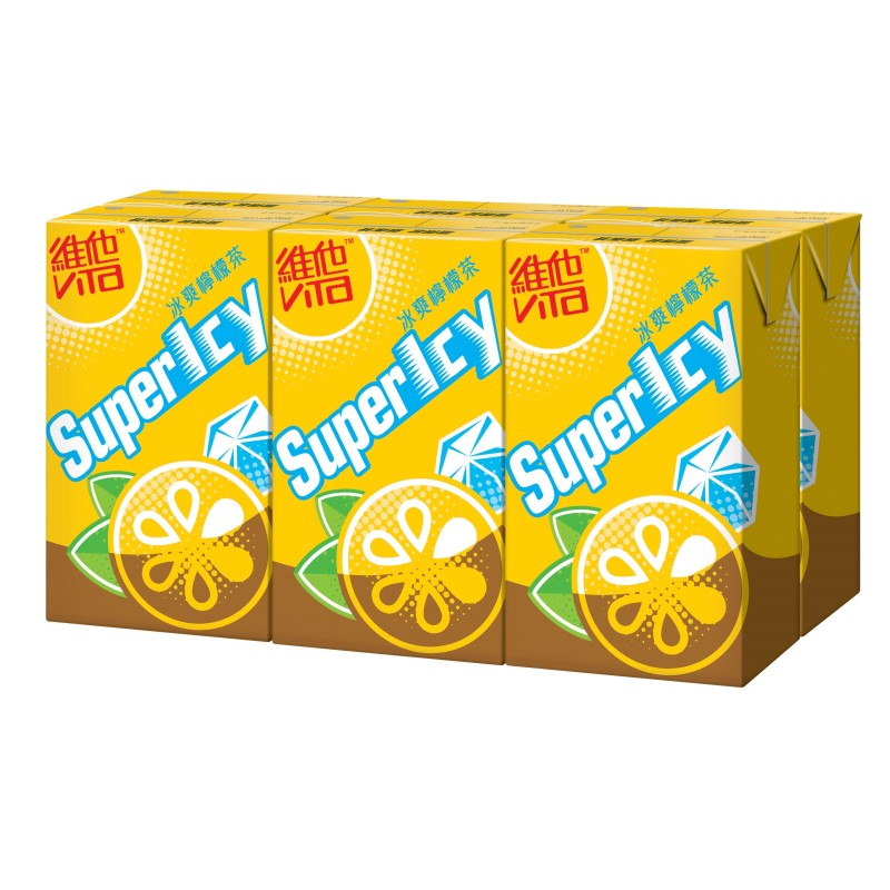 Vita Supericy Lemon Tea Drink 250ml X 6pkts