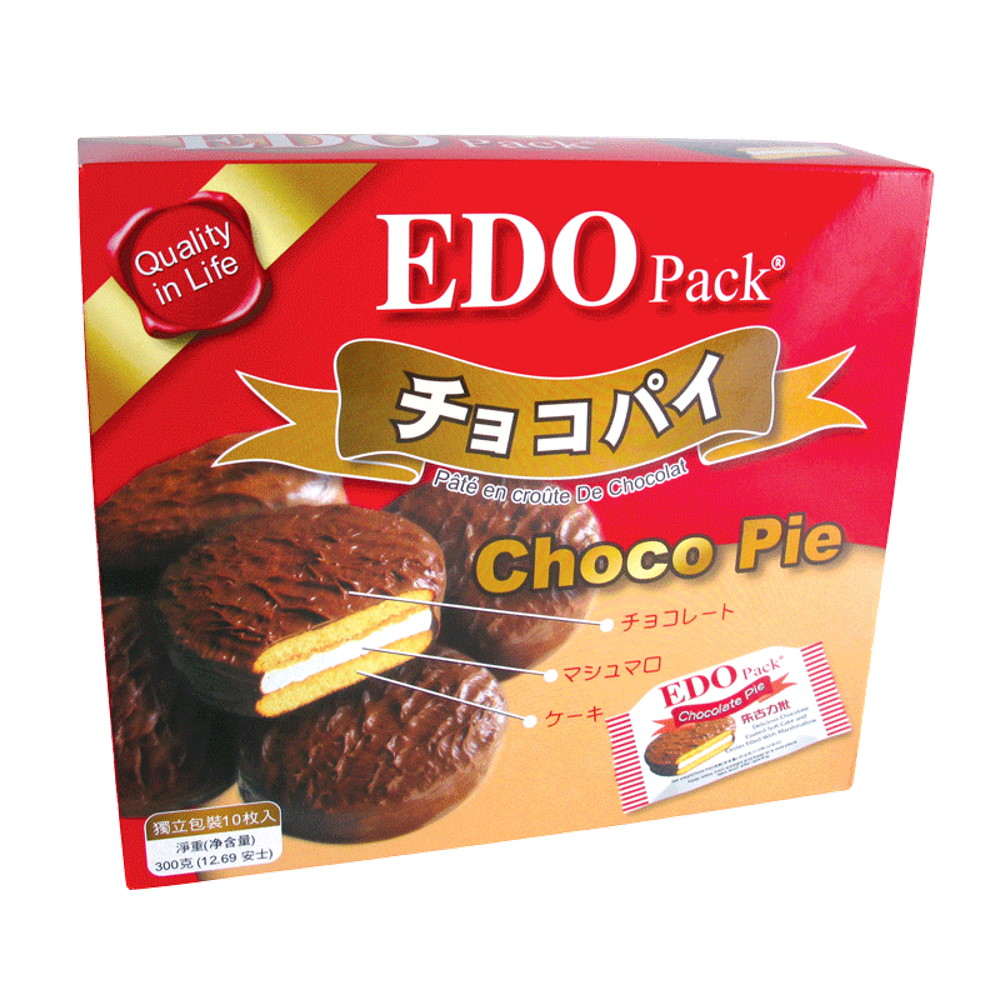 EDO PACK CHOCOLATE PIE 300G
