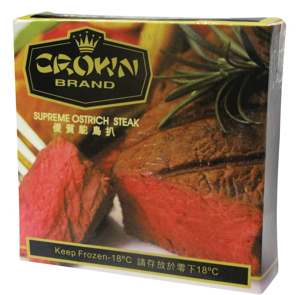 CROWN CHINA SUPREME OSTRICH STEAK