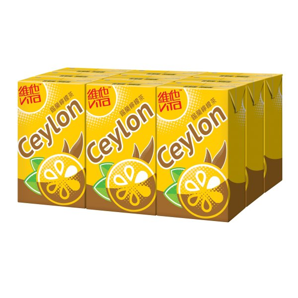 VITA CEYLON LEMON TEA DRINK 250ML X 9'S