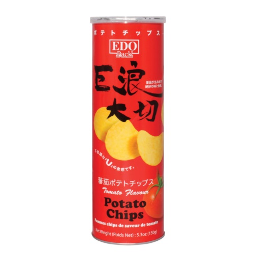 EDO PACK TOMATOFLA FLAVOUR POTATO CHIP 150G