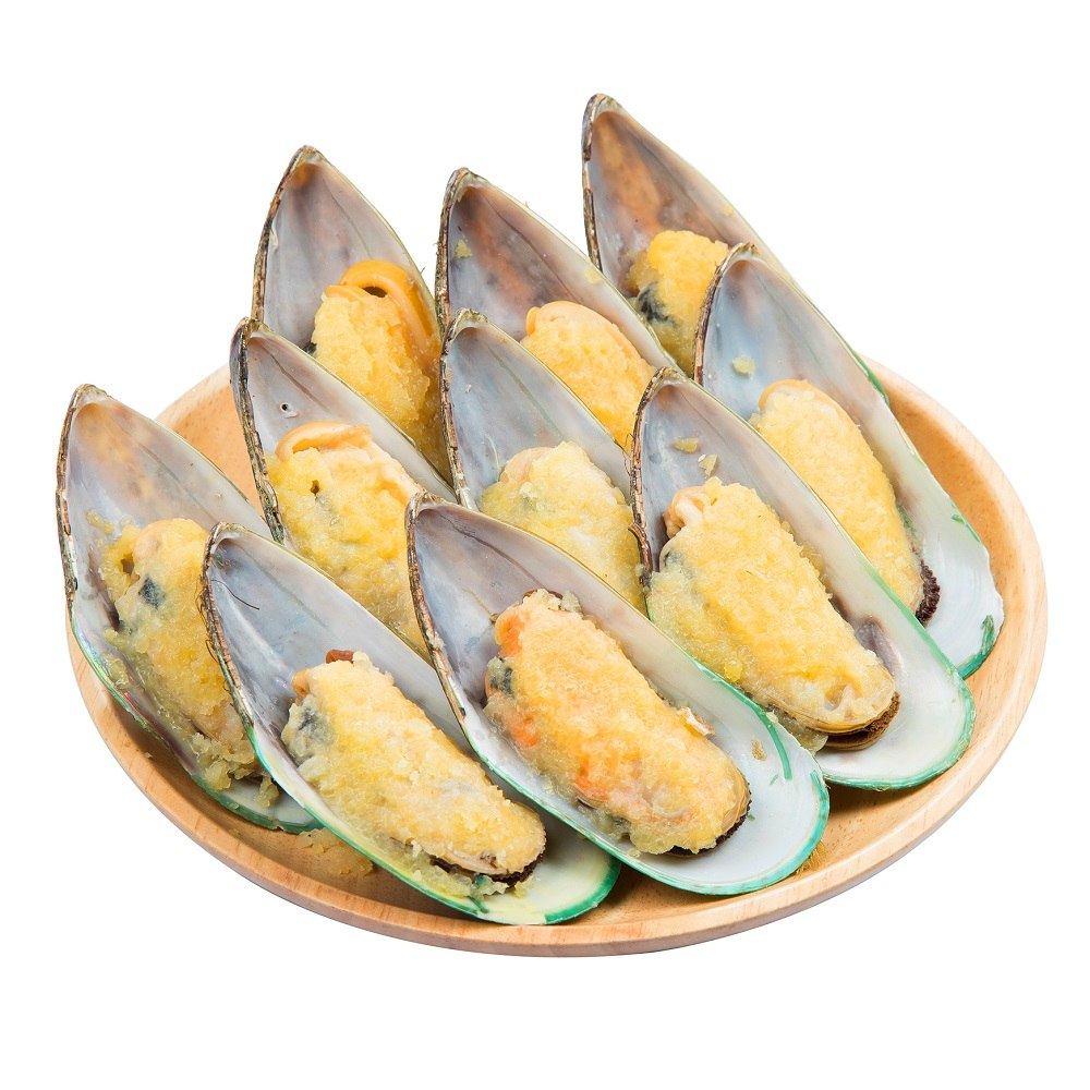 Half Shell Mussell With Butter & Garlic 10pcs