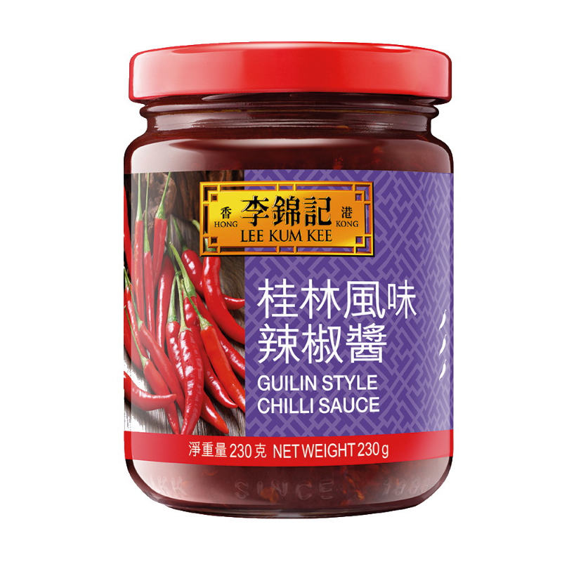 LEE KUM KEE GUILIN CHILI SAUCE 230G