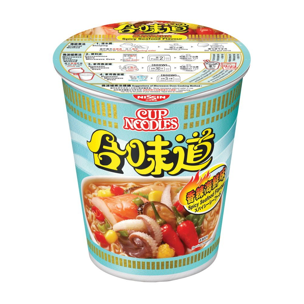 CUP NOODLES - SPICY SEAFOOD 73G