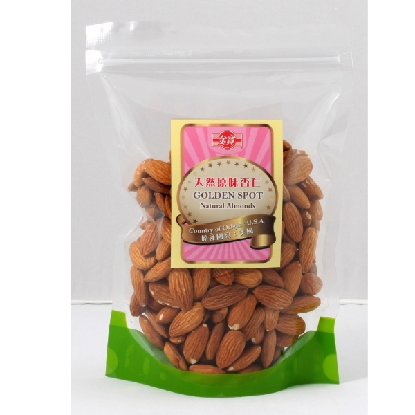 GOLDEN SPOT NATURAL ALMONDS 300G