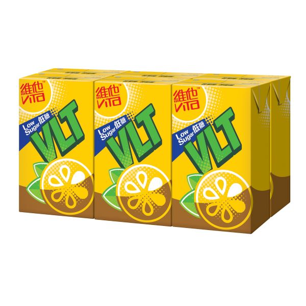 VITA LOW SUGAR LEMON TEA DRINK 250ML6P