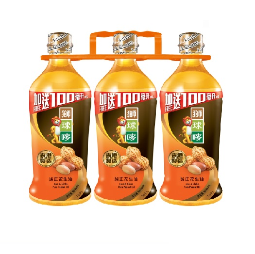 L & G PEAUNT OIL 900ML X 3