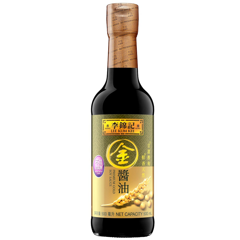 LEE KUM KEE PREMIMUM GOLD SOY SAUCE 500ML