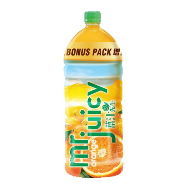 MR JUICY ORANGE JUICE DRINK 2L