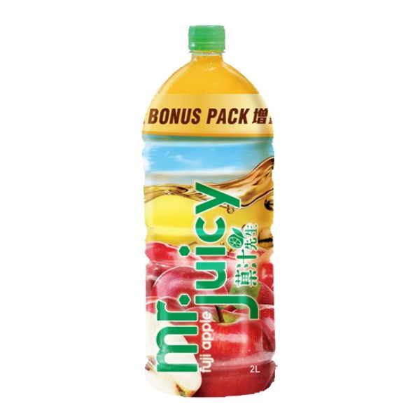 MR JUICY FUJI APPLE JUICE DRINK 2L