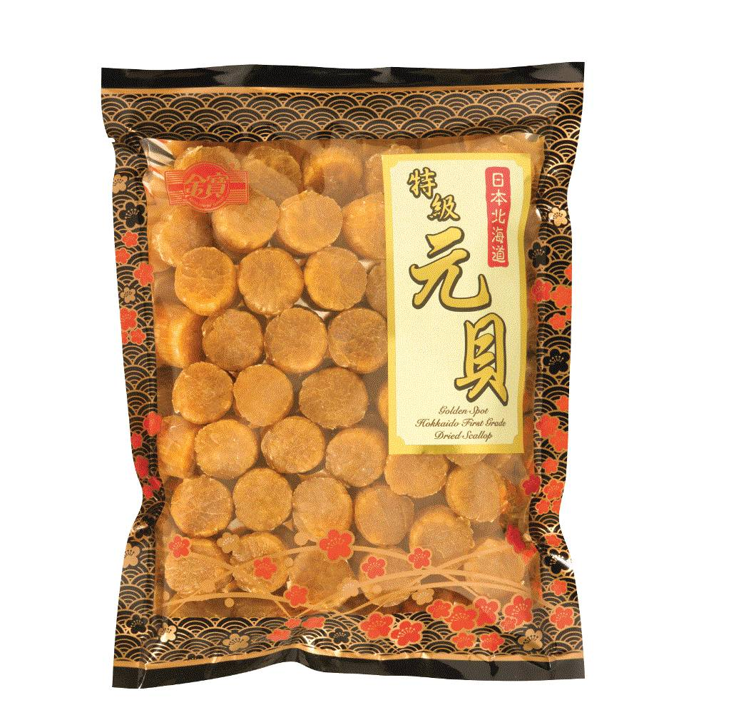 GOLDEN SPOT 1 ST GRD DRIED SCALLOP 454G