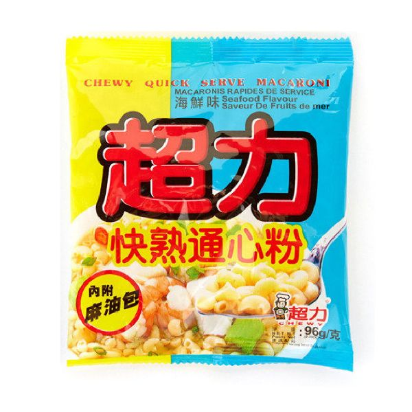 CHEWY MACARONI - SEAFOOD FLAVOUR 96G