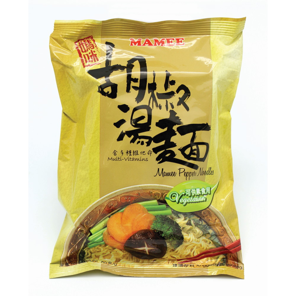 MAMEE PEPPER NOODLES 5PCS/PKT