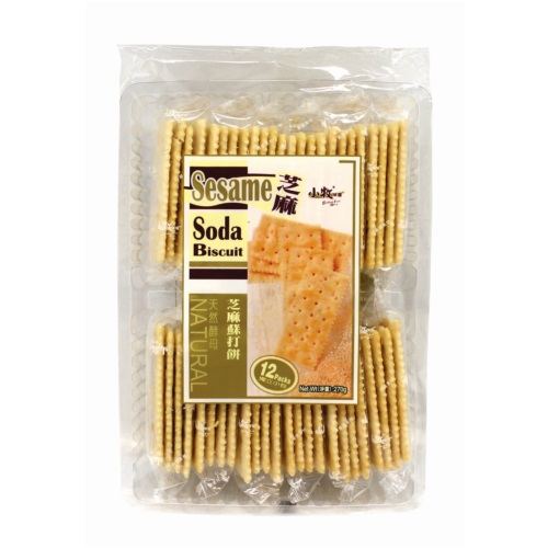 EXCELLENT FOOD HOUSE SODA BISCUIT SESAME FLAVOUR 270G