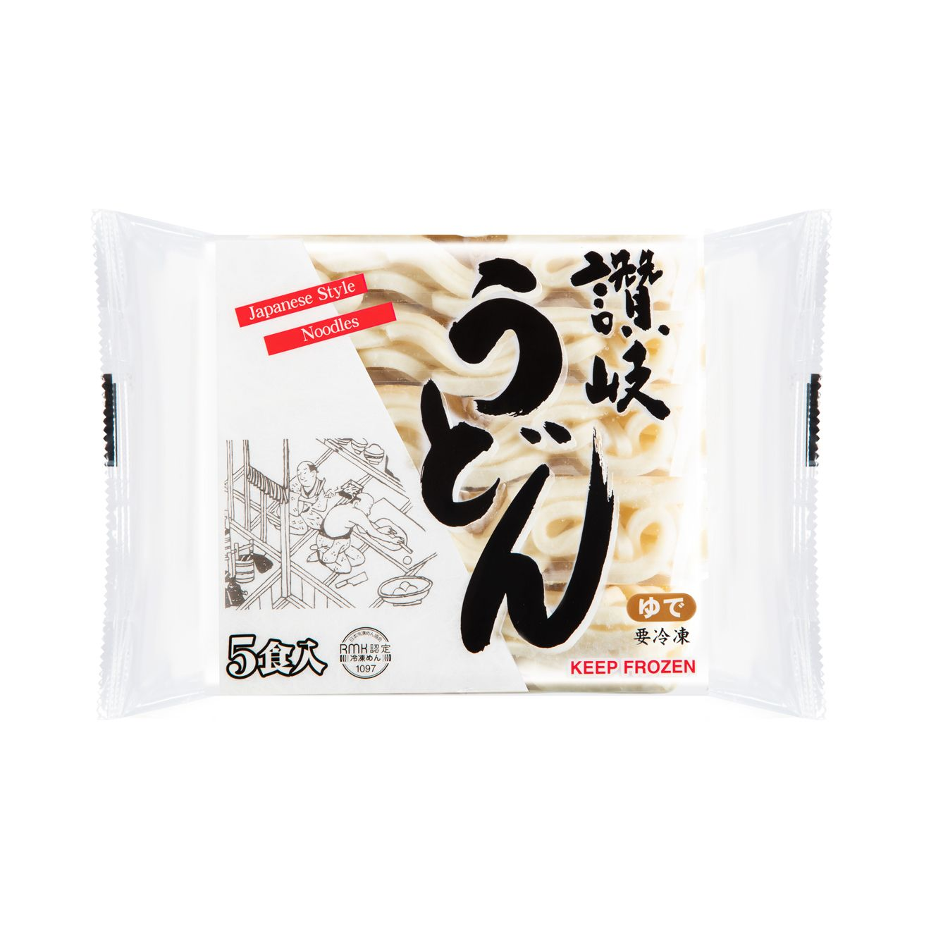 Japan Yasuda Frozen Sanuki Udon 250gx5packs