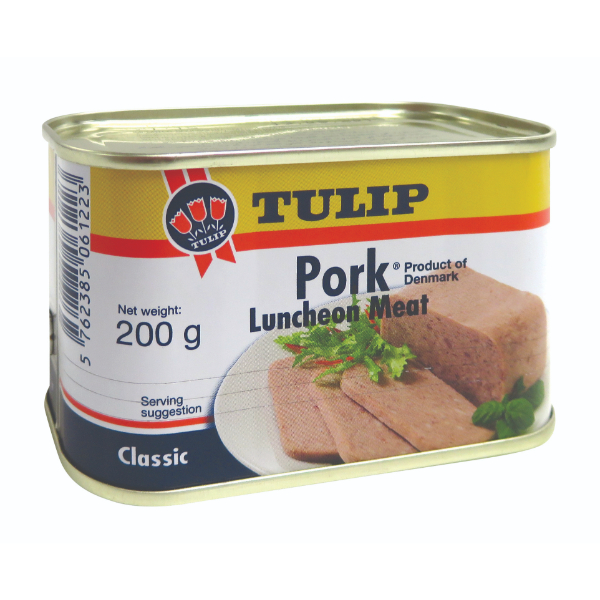 TULIP PORK LUNCHEON MEAT 200G
