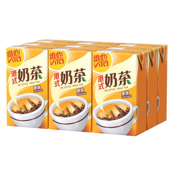 VITA HONG KONG STYLE MILK TEA DRINK 250ML 9P