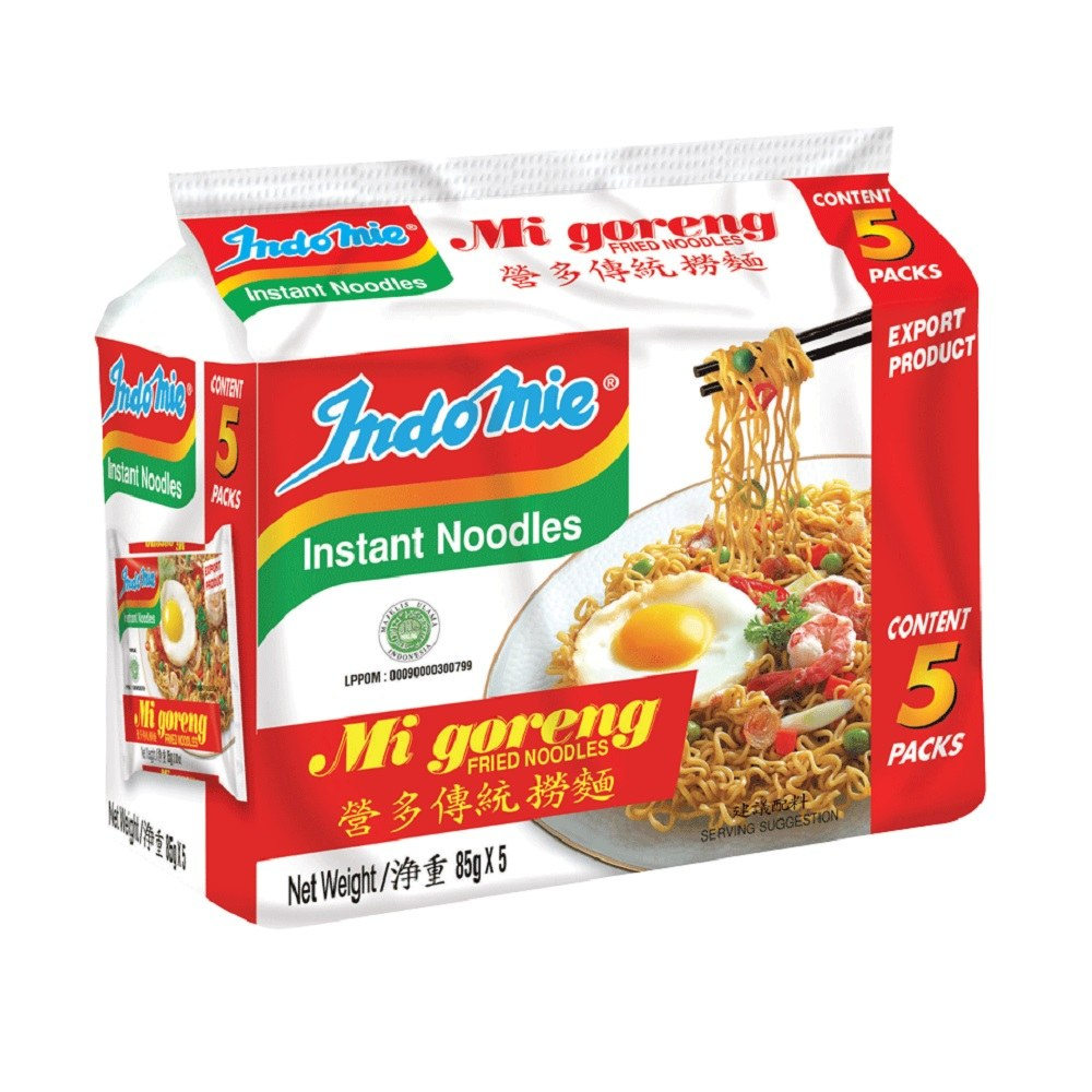 INDOMIE MIGORENG (5IN1) 85G X 5