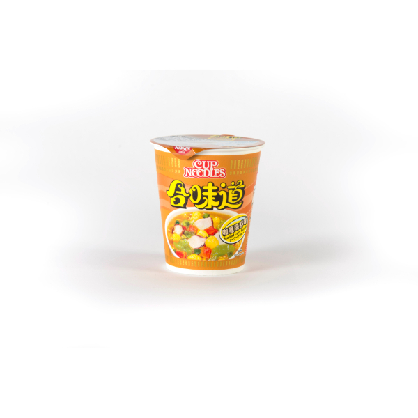 NISSIN CUP NOODLES CURRY SEAFOOD FLAVOUR 75G