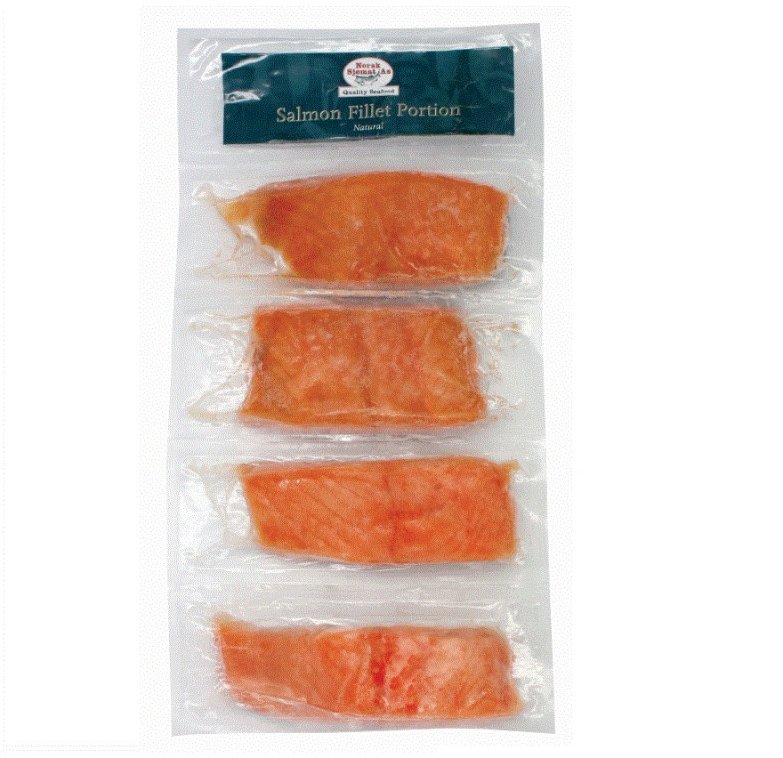 Norwegian Salmon portion (4 PCS) 480G