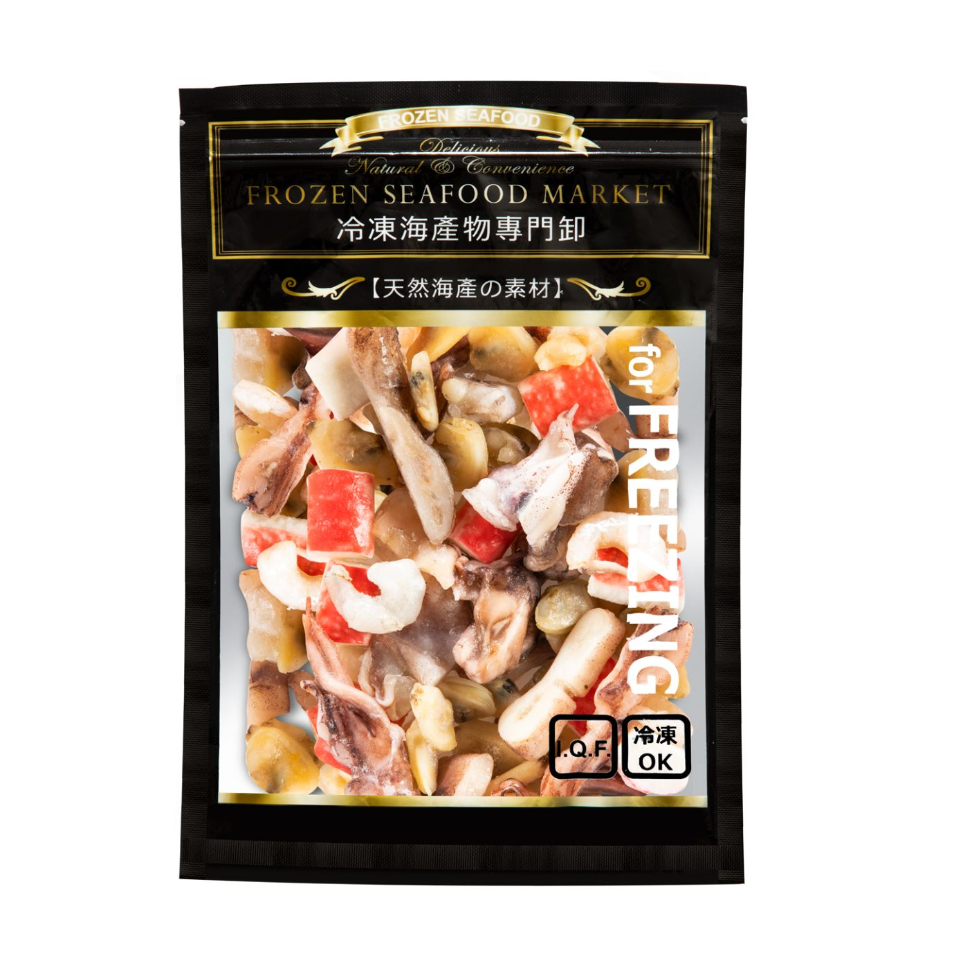 FROZEN SEAFOOD MIXED 200g