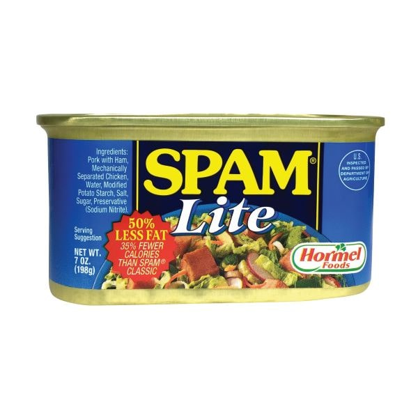 SPAM LITE LUNCHEON MEAT 198G