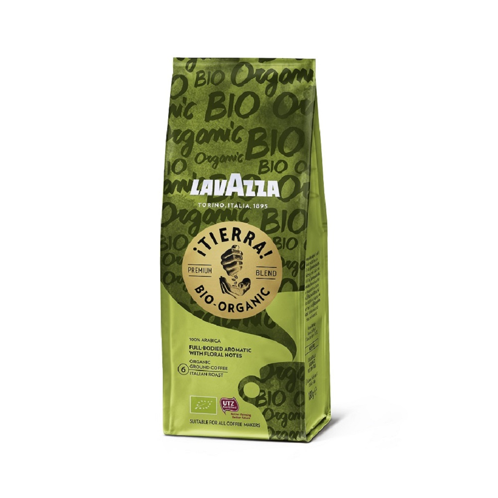 Lavazza Tierra Organic Ground Coffee 180g