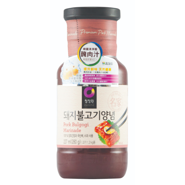 CHUNG JUNG ONE MARINADE FOR PORK (SPICY) 280G