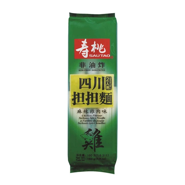 SAU TAO SICHUAN SPICY NOODLE CHICKEN FLAVOURED 160G