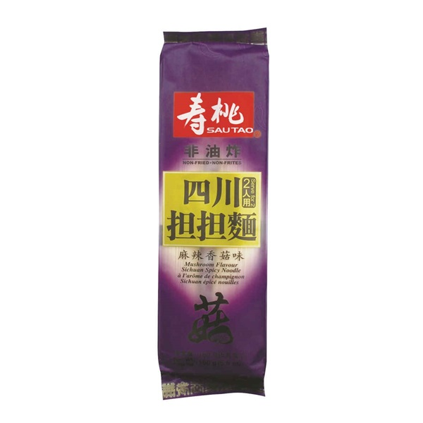 SAU TAO SICHUAN SPICY NOODLE MUSHROOM FLAVOURED 160G