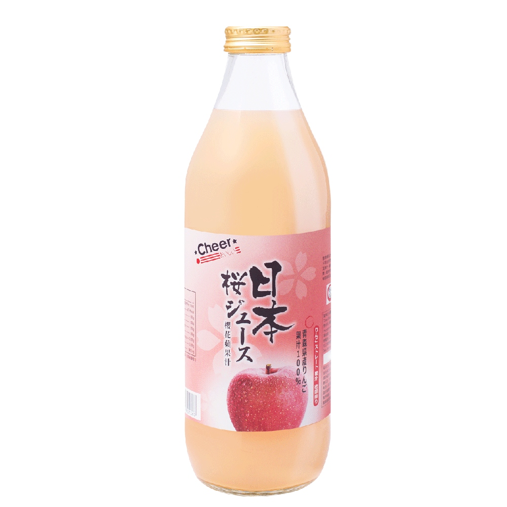 Cheer Japan Sakura  Apple Juice 1L