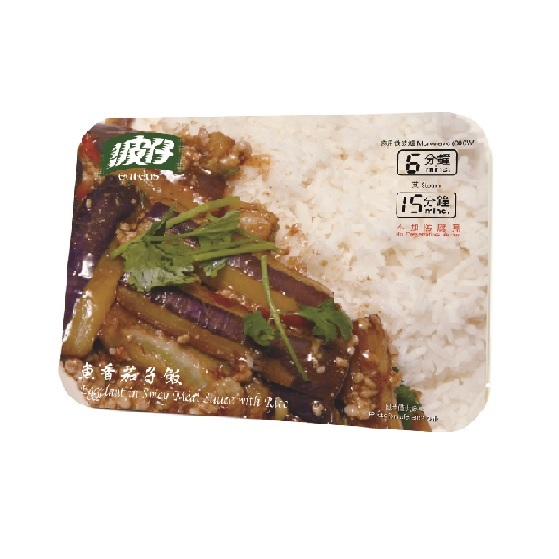 EAT EAST EGGPLANT IN SPICY MEAT SAUCE W/ RICE 550G