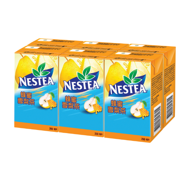 NESTEA - HONEY PEAR TEA 250ML 6P