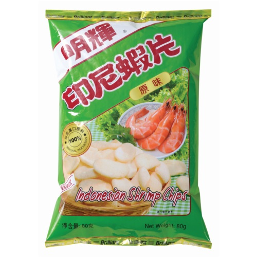 BRILLIANT INDONESLAN SHRIMP CHIPS 80G
