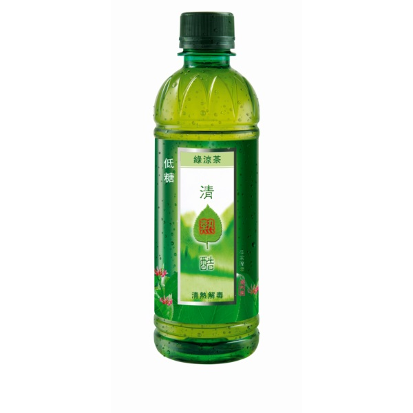 SENSA COOLS HERBAL GREEN TEA 350ML