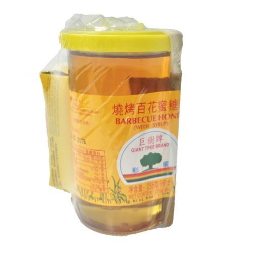 GIANT TREE BEAND BARBECUE HONEY 255G