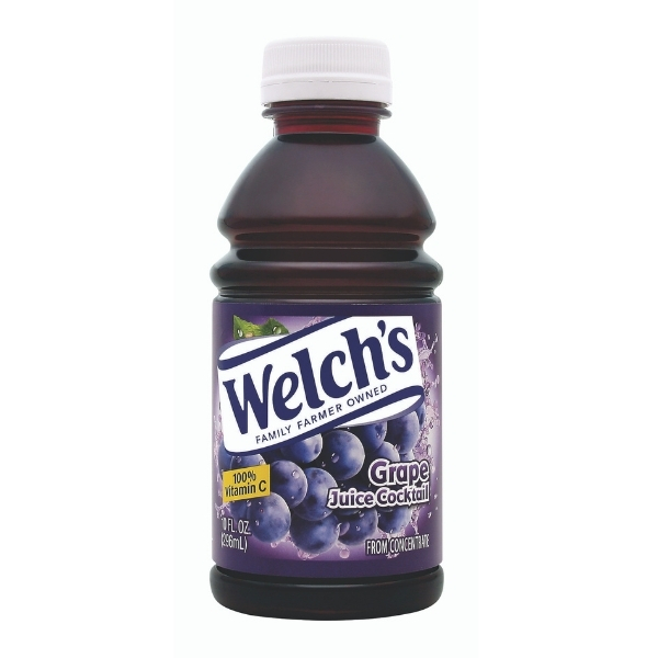 WELCHS GRAPE JUICE COCKTAIL 10OZ