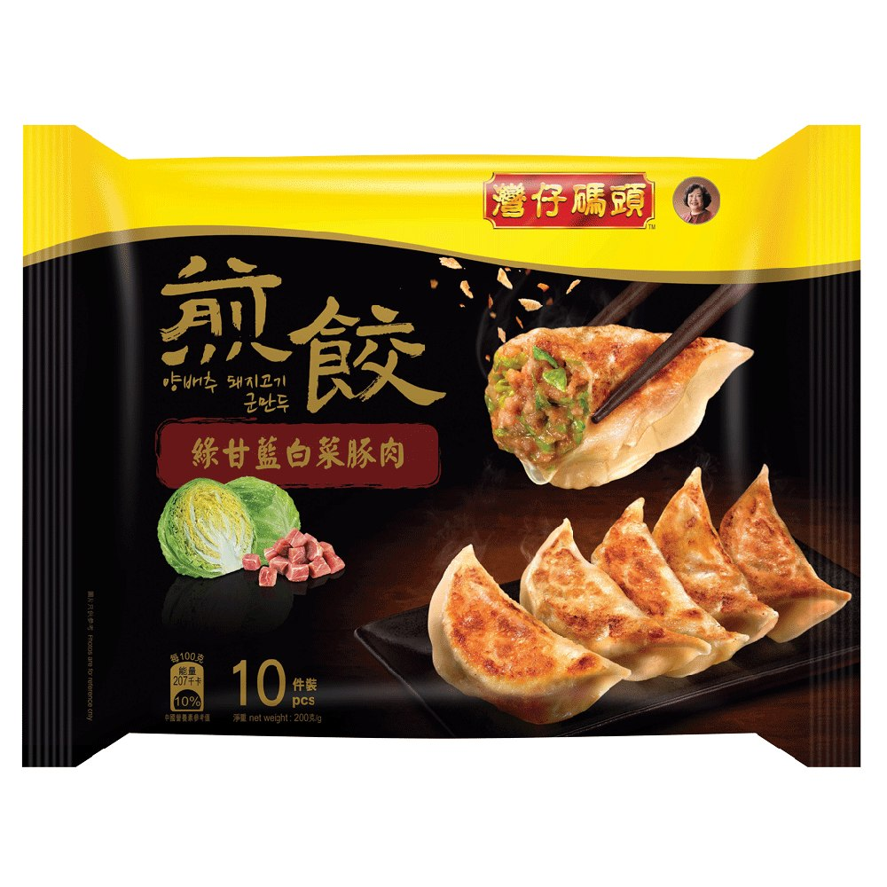WCF CABBAGE & PORK FRIED DUMPLING 200G(10S)
