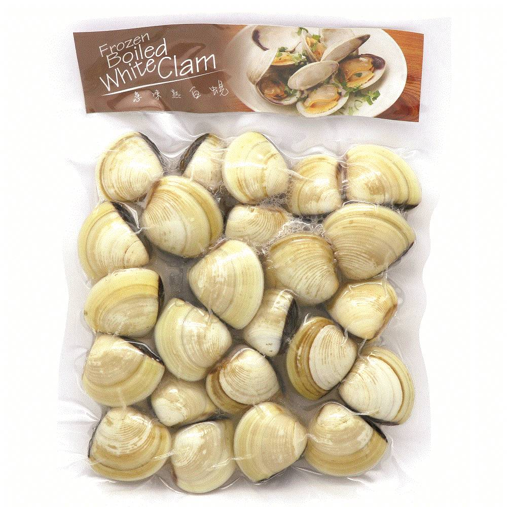 FROZEN BOILED WHITE CLAM 454G