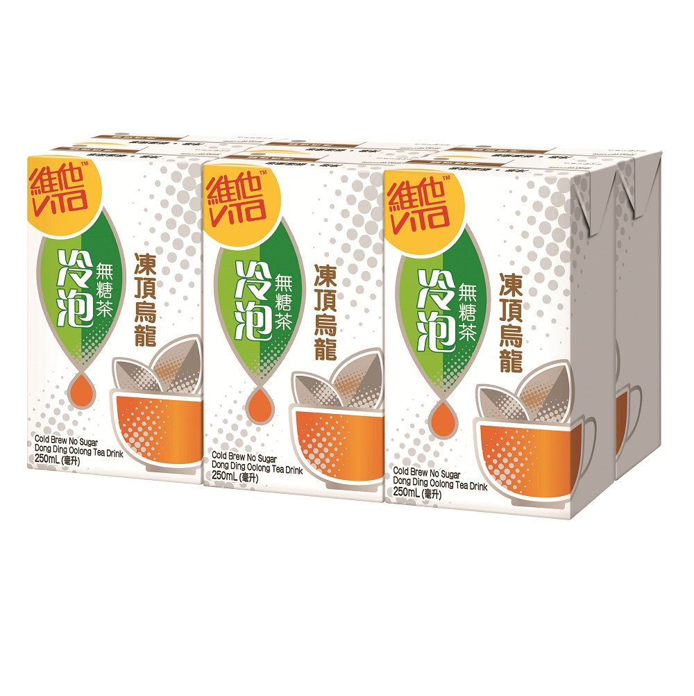 Vita No Sugar Tea Oolong 250ml X 6