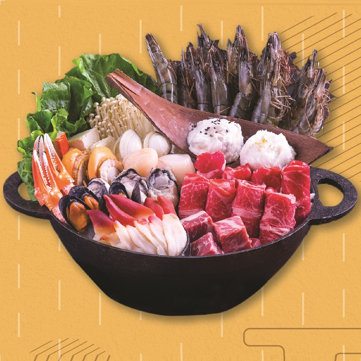 Seafood Supreme Hotpot Set (4-6persons)