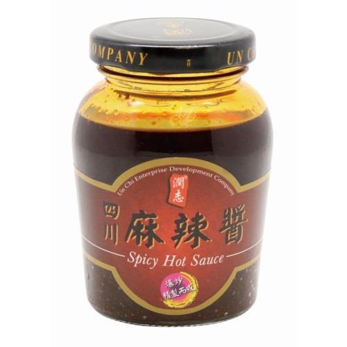 UN CHI SPICY HOT SAUCE 180G