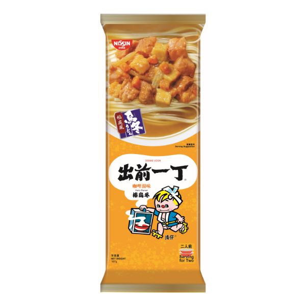 DEMAE ICCHO BAR UDON CURRY FLAVOUR 167G