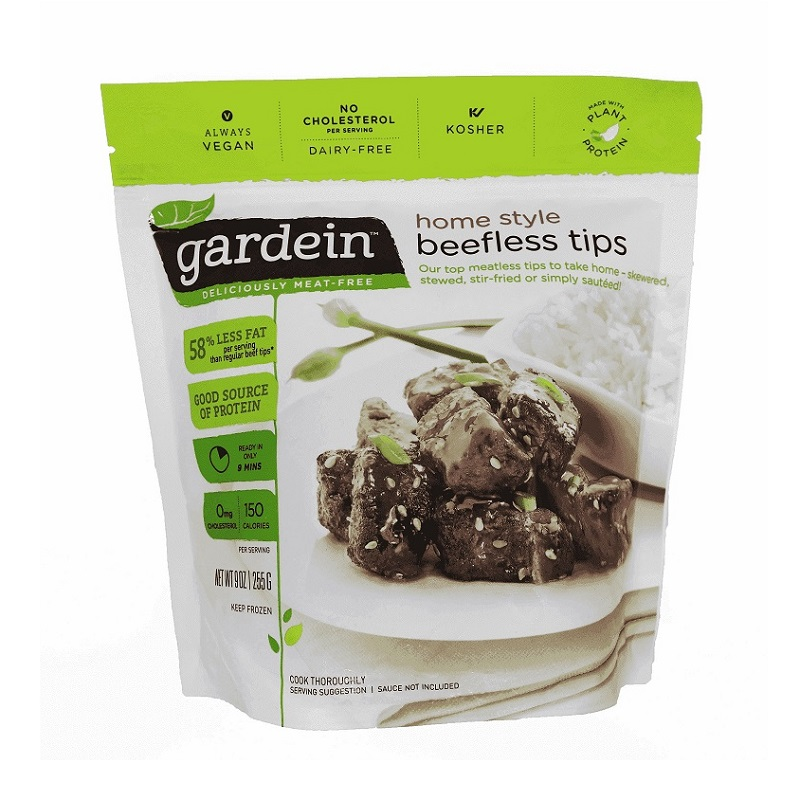GARDEIN BEEFLESS TIPS 9OZ