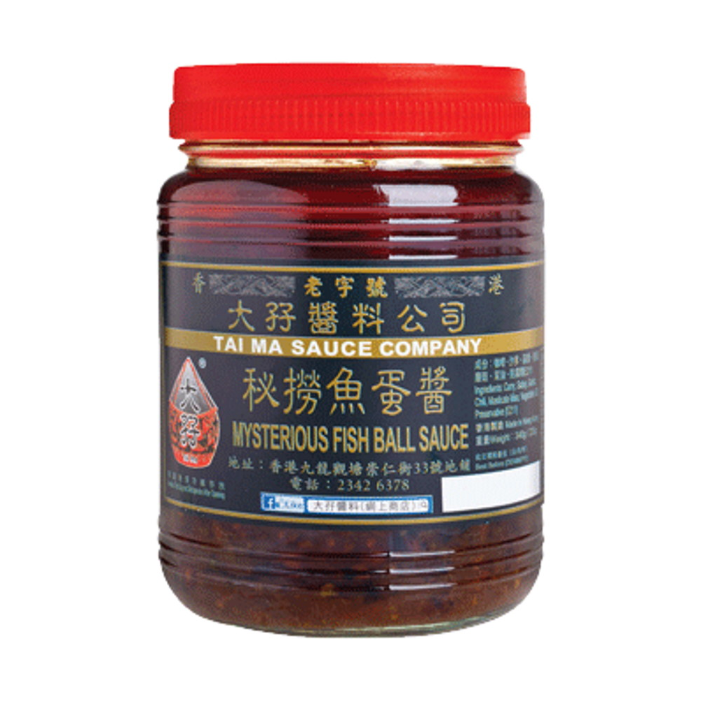 TAI MA MYSTERIOUS FISH BALL SAUCE 340G