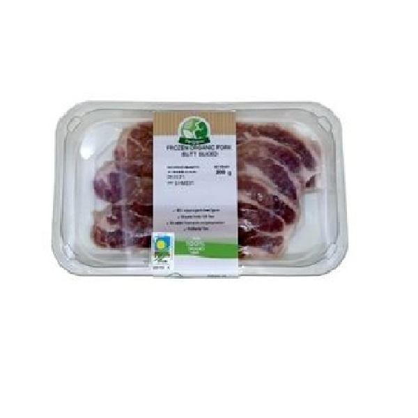 PORKGANIC BONELESS COLLAR SKIN PACKED 200G